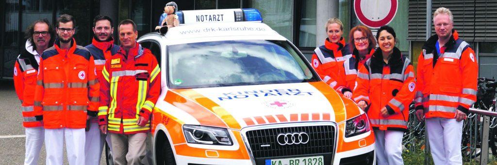 Kinder Notarzt Wagen Karlsruhe